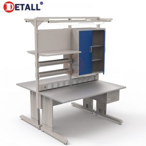 14-double-esd-workbench-with-cabinet