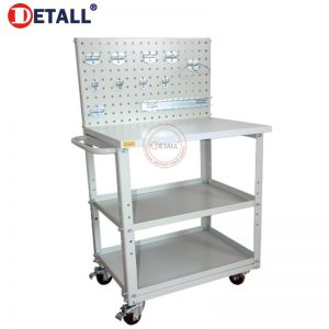 2 Esd Cart With Pegboard