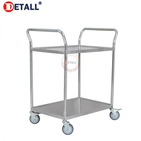 2 Stainless Steel Utility Cart