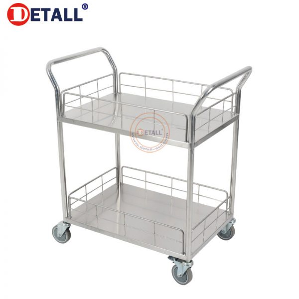 4 Stainless Steel Cart With Wheels