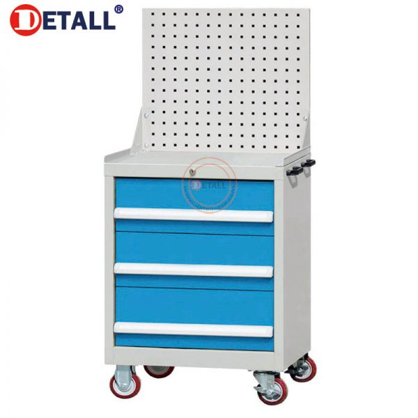 7 Drawer Cart With Peg Board