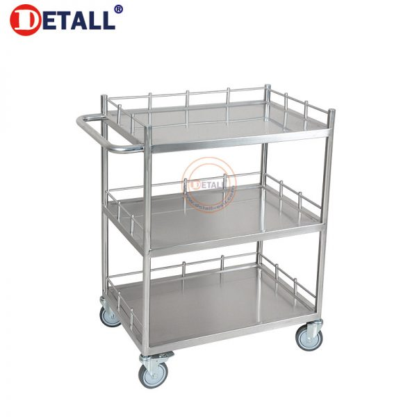 7 Stainless Cart 3 Layers