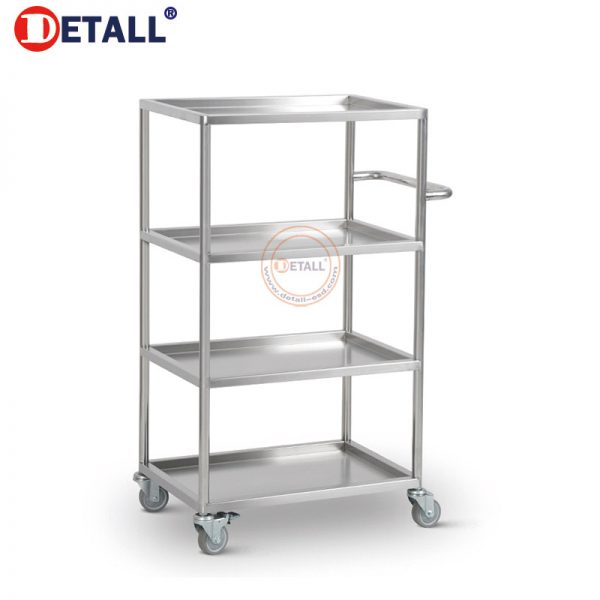 8 Stainless Cart 4 Layers