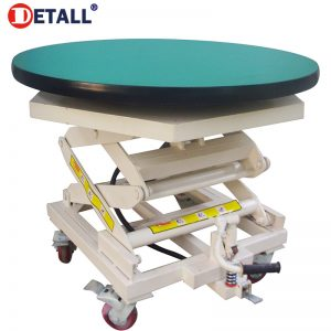 lifting-worktable-with-rotating-top