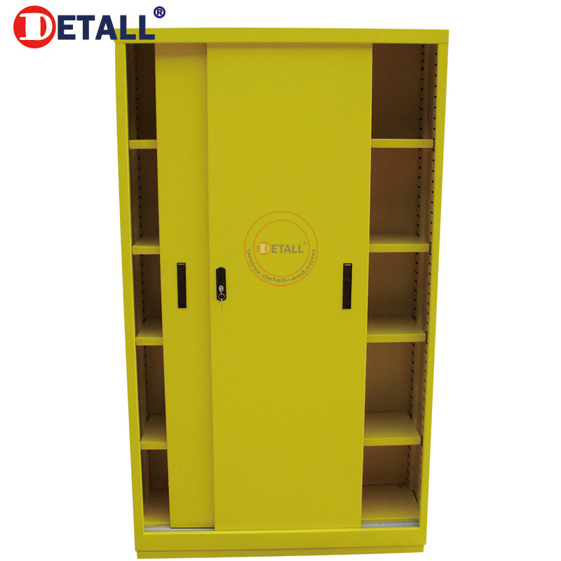 Sliding Door Storage Cabinet Detall Esd